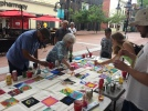 Canvas for a Cause Part II at the Downtown Mall